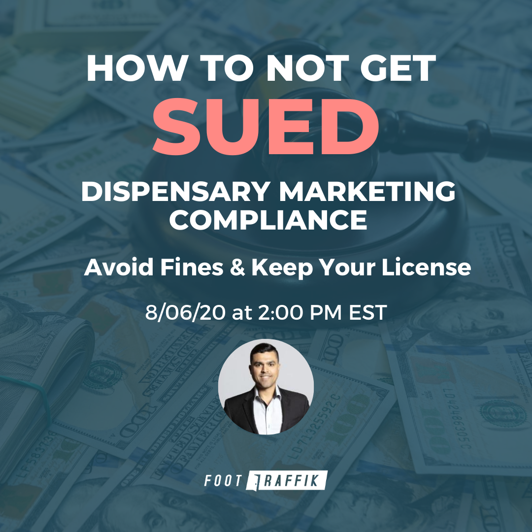 How to Not Get Sued Dispensary Marketing Compliance